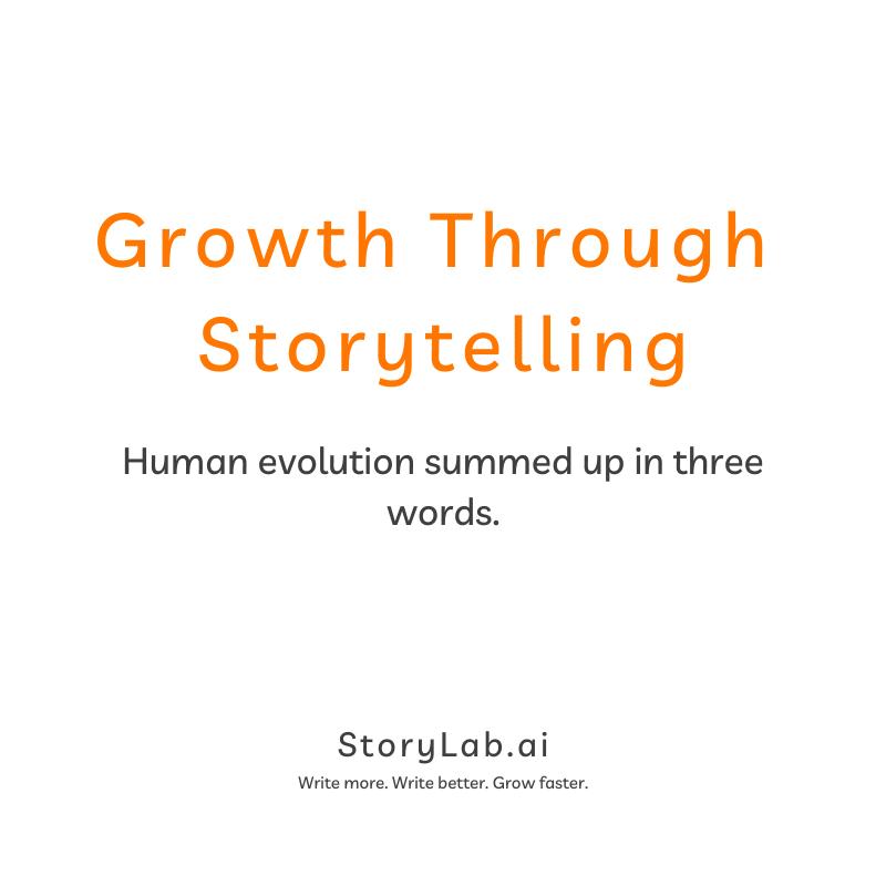 growth through storytelling